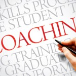 COACHING word cloud, education business concept
